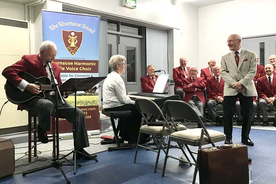thurnscoe harmonic male voice choir in concert